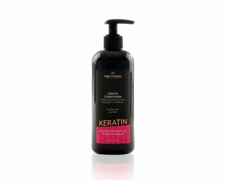 Pure Mineral Leave-in Dry hair conditioner with keratin 350ml