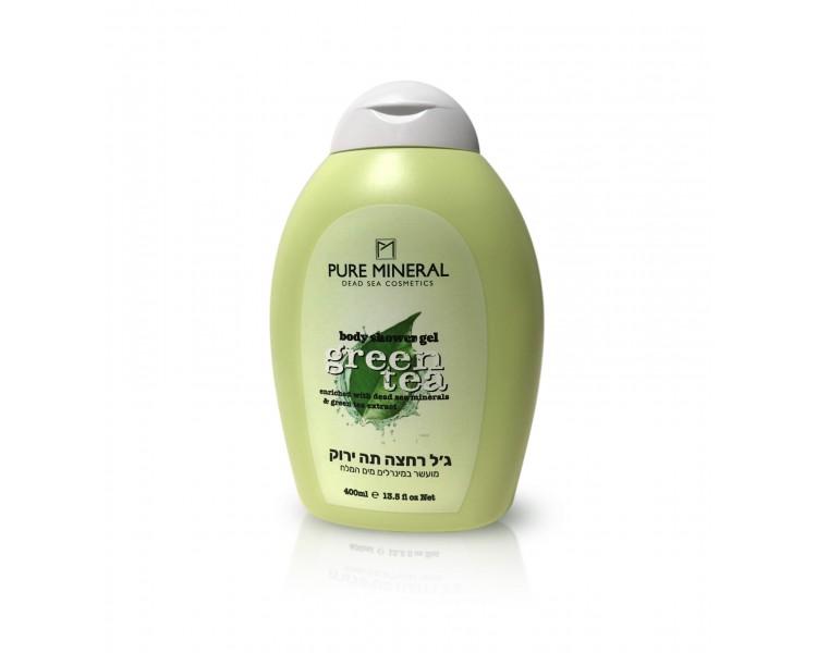 Pure Mineral Shower Body Gel, Green Tea 400ml
