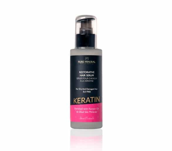 Pure Mineral Sérum na vlasy s keratinem 100ml