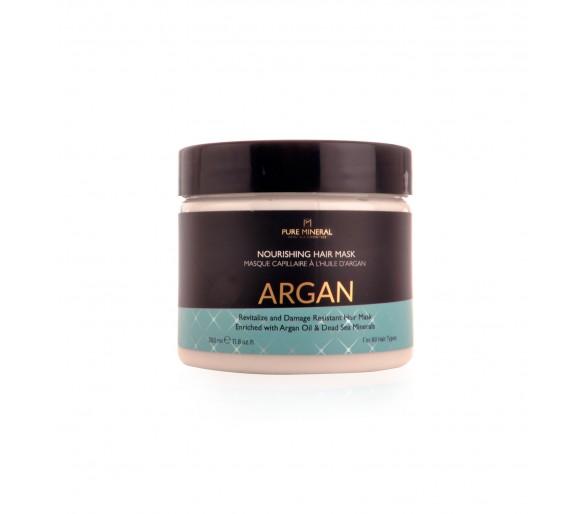 Pure Mineral Maska na vlasy s arganovým olejem 350ml