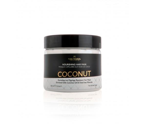Tiszta ásványi hajmaszk kókuszolajjal 350ml