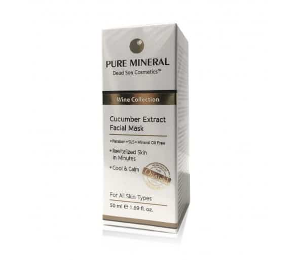 Pure Mineral Mask with cucumber extract 50 ml