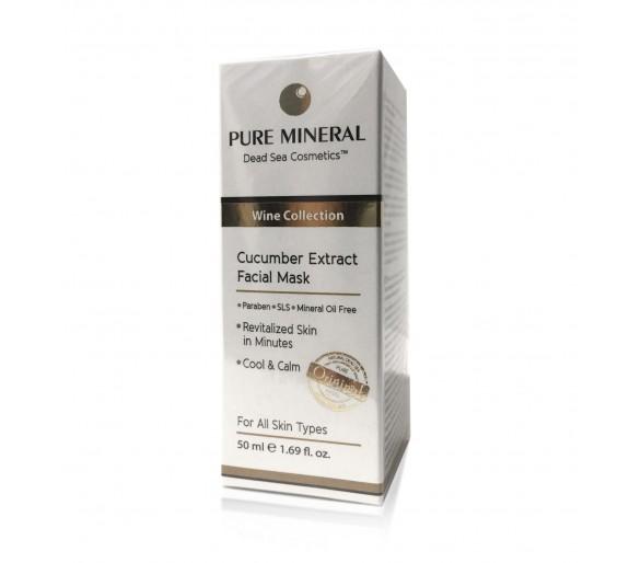 Pure Mineral Maska s extraktom z uhorky 50 ml