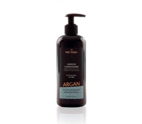 Après-shampooing sans rinçage pour cheveux bouclés à l'huile d'argan 350ml