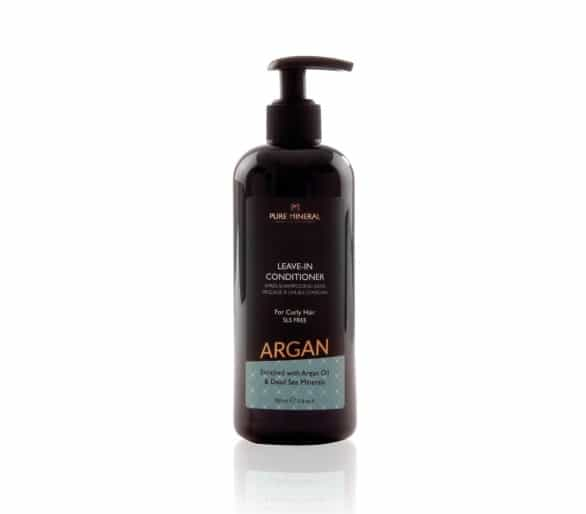 Pure Mineral Leave-in Curly hair conditioner with argan oil 350ml