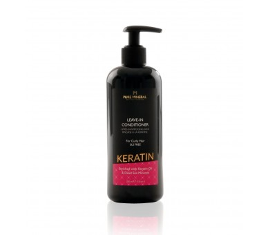 Pure Mineral Leave-in Curly hair conditioner with keratin 350ml