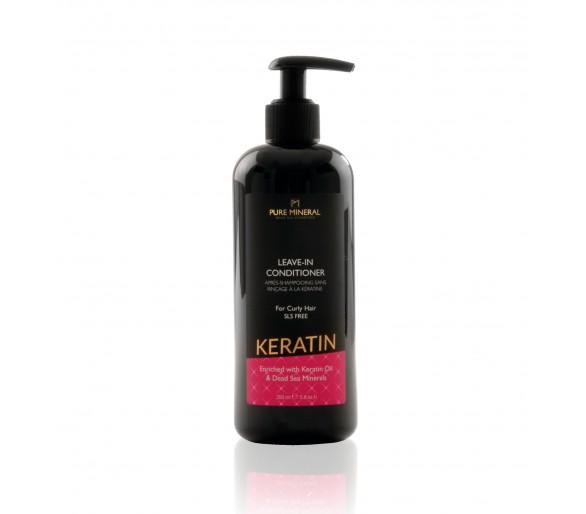 Après-shampooing sans rinçage pour cheveux bouclés à la kératine 350ml