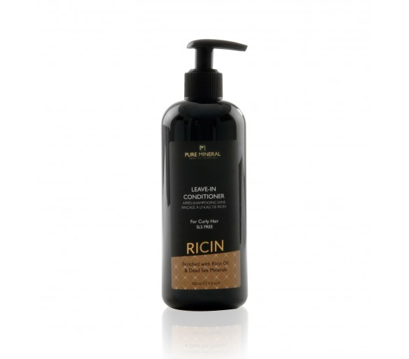 Pure Mineral Leave-in Curly kondicionér na vlasy s ricínovým olejom 350ml