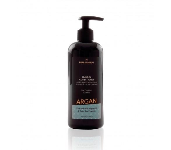 Après-shampooing sans rinçage pour cheveux secs à l'huile d'argan 350ml