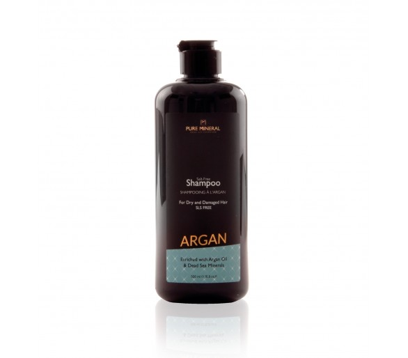 Pure Mineral Hair Shampoo with argan oil 500ml