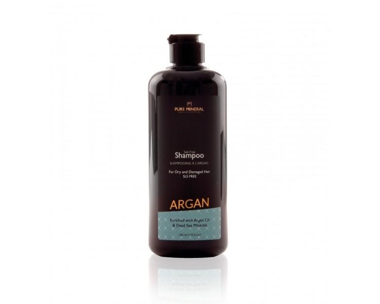Pure Mineral Hair Shampoo with argan oil 500ml