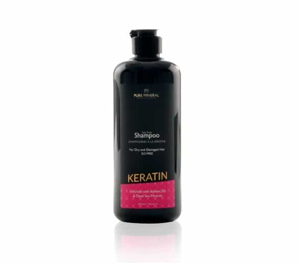 Pure Mineral Hair Shampoo with keratin 500ml