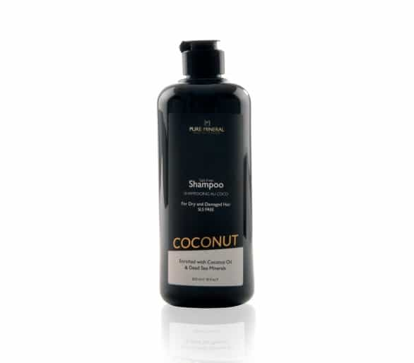 Pure Mineral Hair Shampoo with coconut oil 500ml