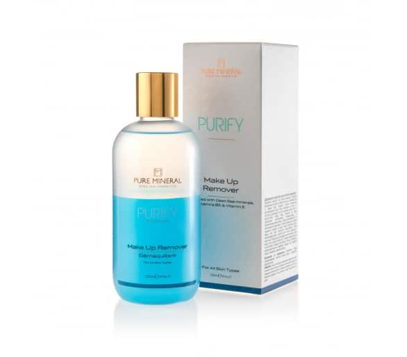 Pure Mineral Make-up remover 250 ml