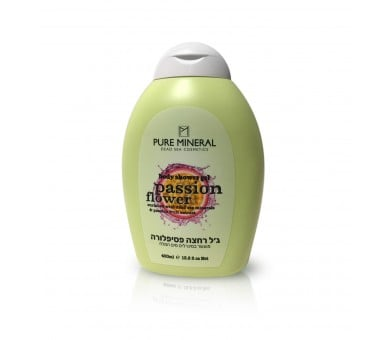 Pure Mineral Shower Body Gel, Passion Flower 400ml