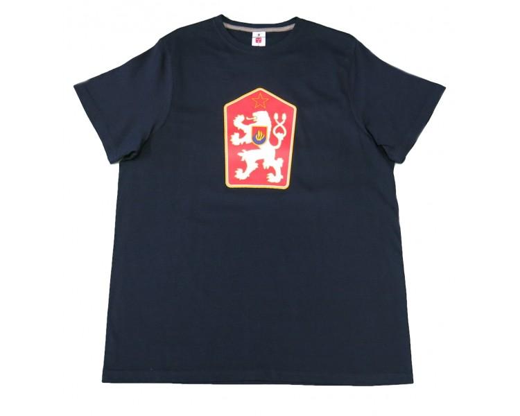 Camiseta Retro Checoslovaquia azul