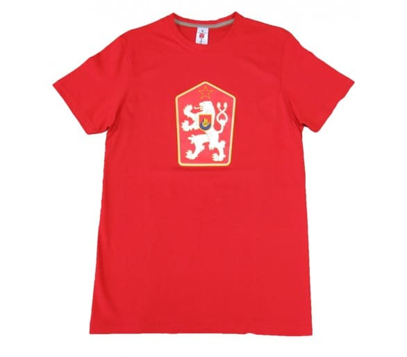 Koszulka Retro Czechosłowacja czerwona