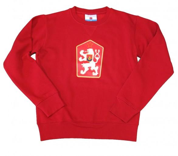 Sudadera ORLANDO Retro Checoslovaquia rojo