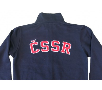 HOUSTON Retro ČSSR sweatshirt blue
