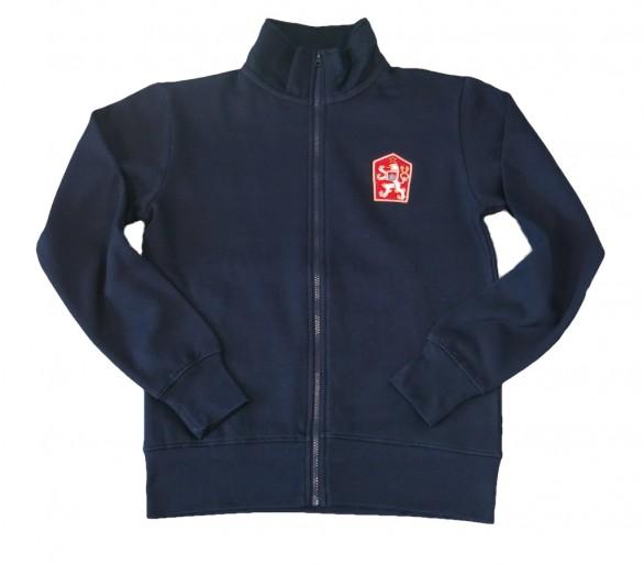 HOUSTON Retro ČSSR Sweatshirt blau