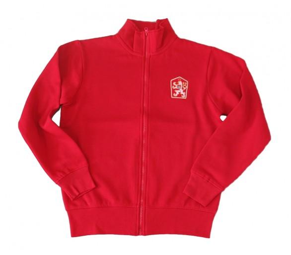 Bluza HOUSTON Retro ČSSR czerwona