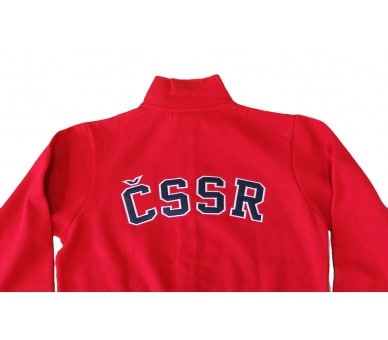 HOUSTON Retro ČSSR sweatshirt red