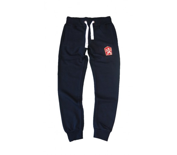 Sweatpants Retro Czechoslovakia blue