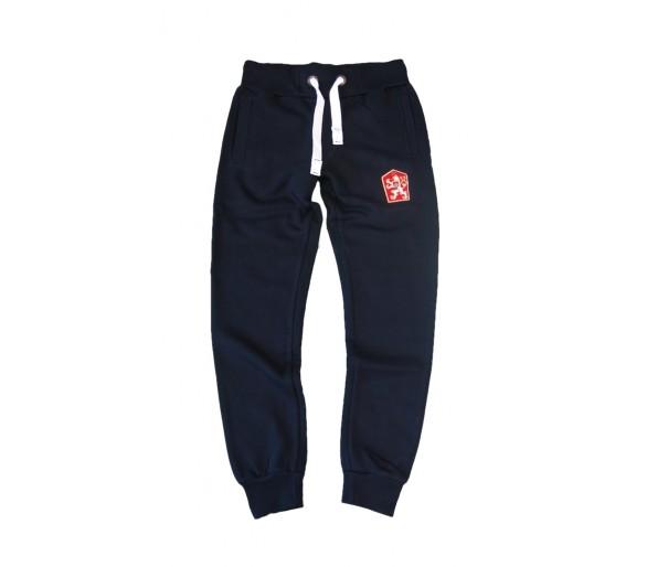 Sweatpants الرجعية تشيكوسلوفاكيا الزرقاء