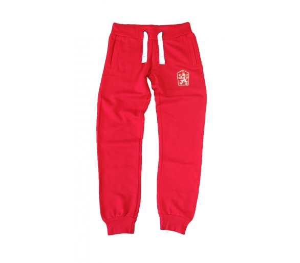 Sweatpants Retro Czechoslovakia red