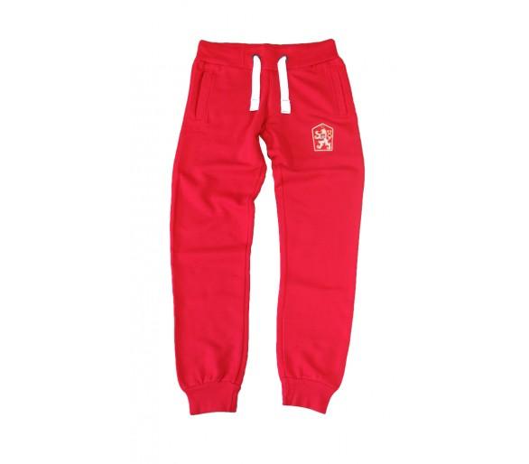Sweatpants Retro Czechoslovakia red