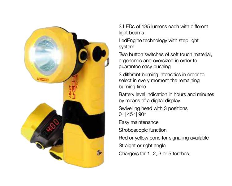 ADALIT L-3000 POWER bezpečnostní svítilna