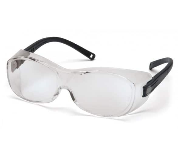 OTS ES3510SJ, safety goggles, black, clear