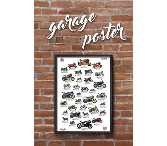 Cartel Buell Garaje