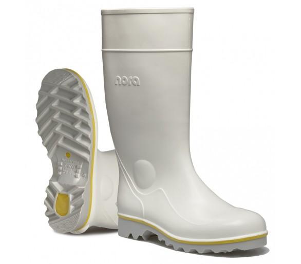 Nora RALF pracovná gumová obuv biela