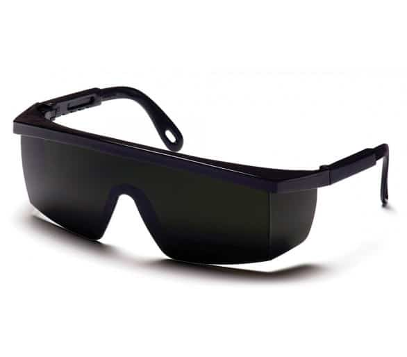 Integra ESB450SF, welding goggles, IR filter 5.0, black trim.