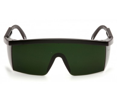 Integra ESB450SF, welding protective goggles, IR filter 5.0, black trim.