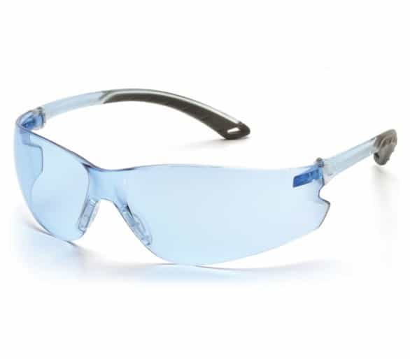 Itek ES5860S, safety glasses, blue / gray, light blue