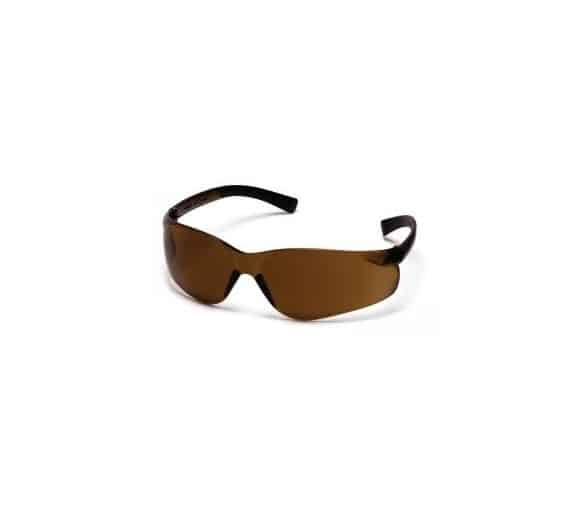 Mini Ztek ES2515SN, safety glasses, coffee brown