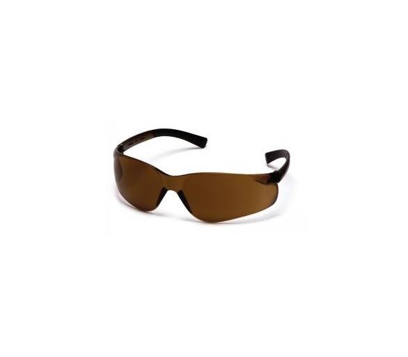Mini Ztek ES2515SN, óculos de segurança, marrom café
