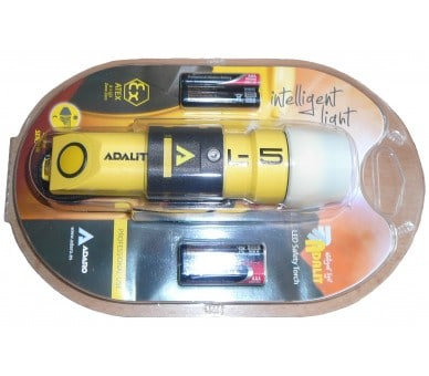 ADALIT L5 POWER flashlight for potentially explosive atmospheres