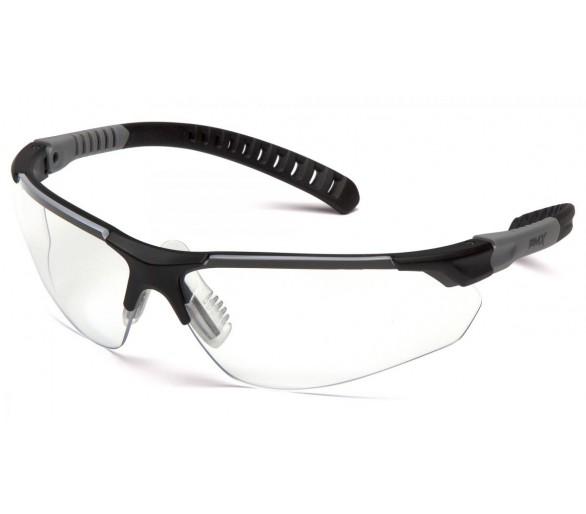 SITECORE SGL10110DTM, védőszemüveg, tiszta, ködmentes H2MAX lencse, fekete keret
