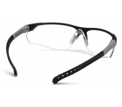 SITECORE SGL10110DTM, safety goggles, clear anti-fog lens H2MAX, black frame